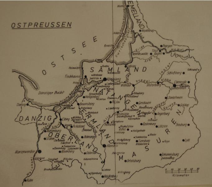 Mazury-na-mapie-Prus-Wschodnich-przed-1945